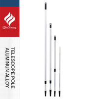 high extension pole /free extension pole/aluminum telescopic poles