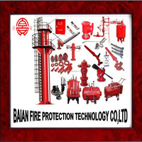 High Quality Ship Fire Monitor Tower For Marine Firefighting