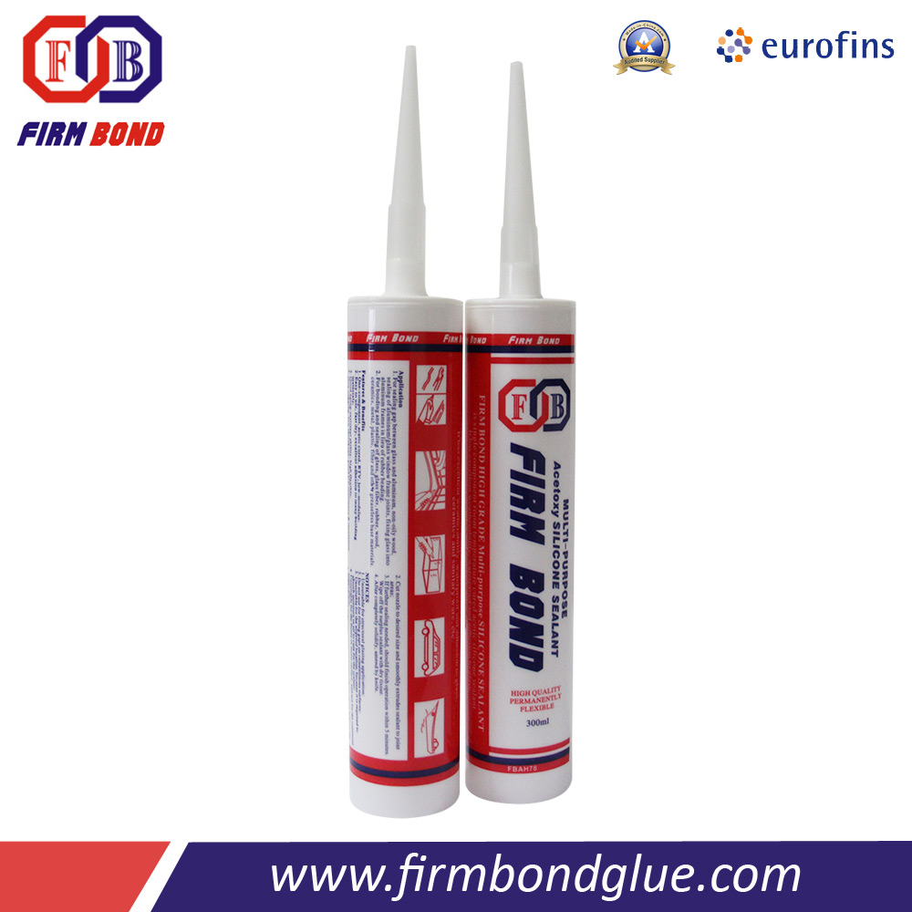 300ml Door and Window Assembling Company Silicone Sealant