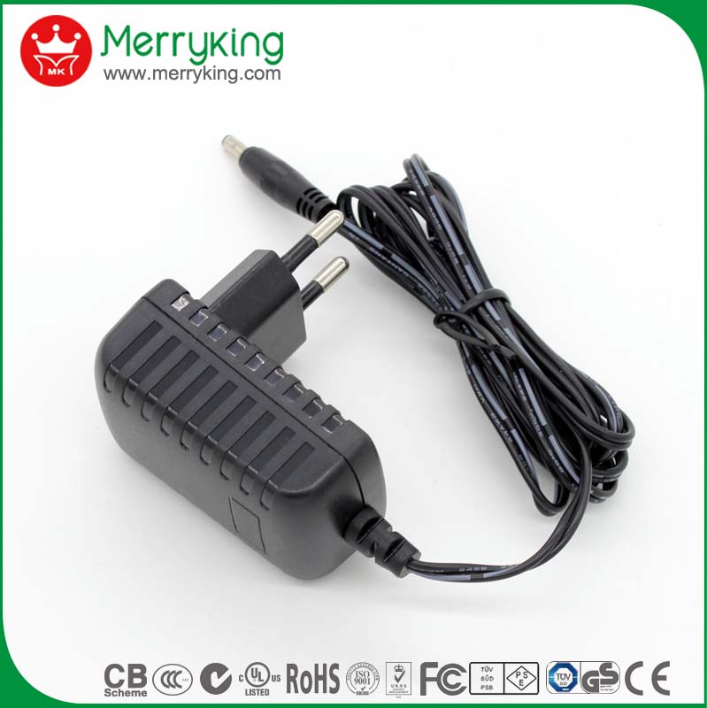 US EU input 220v 9v power adapter 13V 800mA ac adaptor with filter