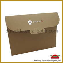 OEM Fasion luxurious envelope / security air mail envelope China factory
