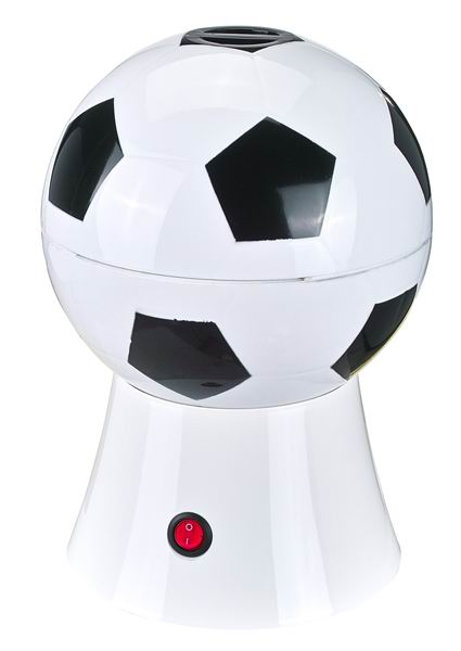 House hold hot air popcorn machine with football model