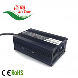 Factory best price portable battery charger with cable for 48volt 2A lithium battery S120