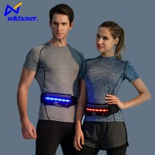 Sport tool fanny bag flash waist tool bag with lights