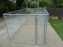 Rust-resistant Lucky Dog Chain link kennels/ portable out door dog run cages/Heavy Duty Steel Dog Kennels/Dog pens