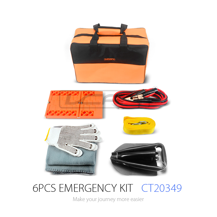 CT20349 2017 Hot Sale for Winter Emergency Situation Roadside Emergency Kit and Auto Emergency Kit