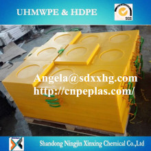 rough surface Outrigger UHMWPE mobile Pad