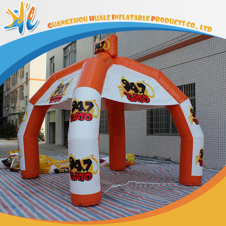 Outdoor Advertising 4 Legs Inflatable Balloon Tent For Sale