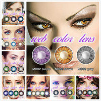 Tri color doll eyes solotica contact lens