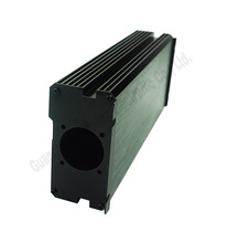 Hot product extruded aluminum extrusion heat sink enclosure