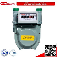 Classic diaphragm natural gas meter G1.6