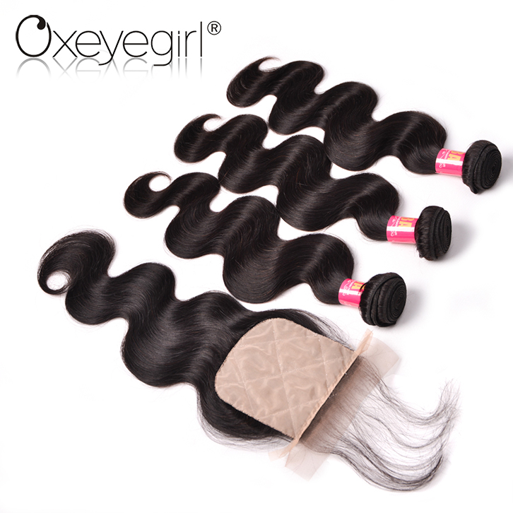 Fast delivery virgin peruvian hair silk base closure, silk base lace closure, cheap-stock-silk-base-closure