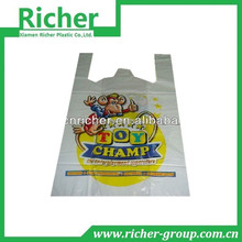 Low Price Best Selling Compostable Disposable Shopping Bag