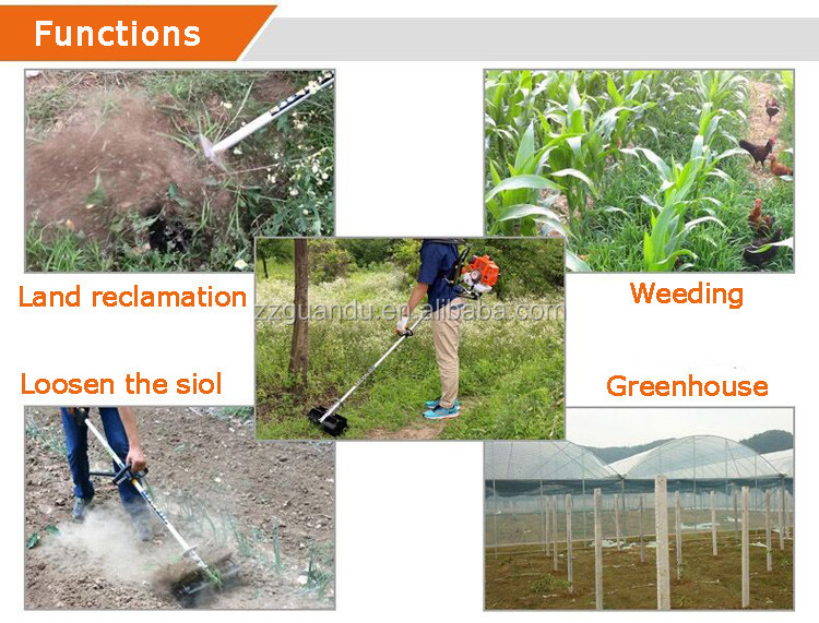 weeding machine function