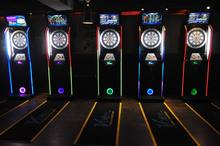Global online electronic darts machine