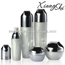 brand OEM cream and lotion glass cosmetic bottles set