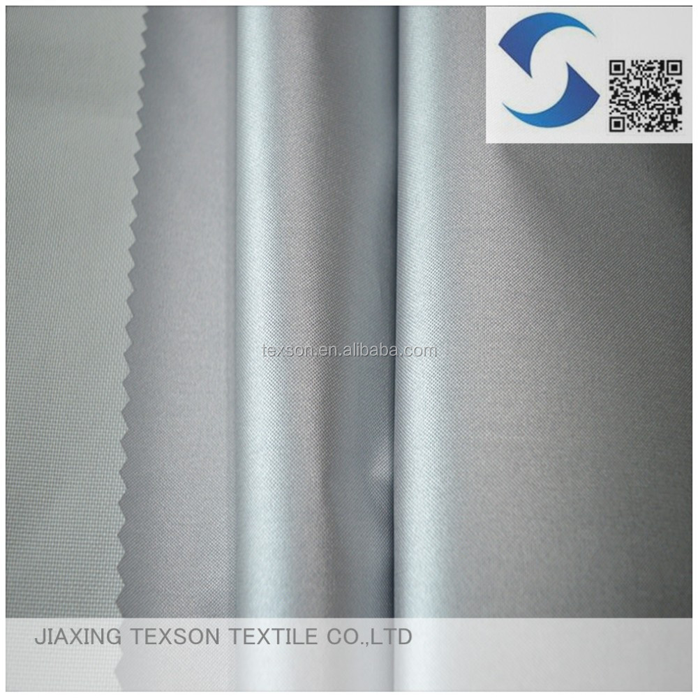 210 denier polyester fabric with silver coated