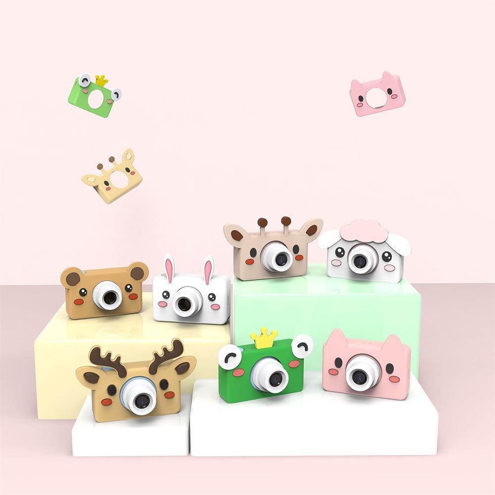 Personnalisé animal mignon enfants mini appareil photo numérique HD photo jouet pour enfants cadeaux - ANKUX Tech Co., Ltd
