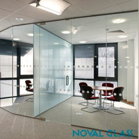 Sell Tempered Office Glass Partition High Quality Partition Wall Glass