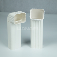 China factory stable pvc pipe and fitting for greenhouse rain gutter