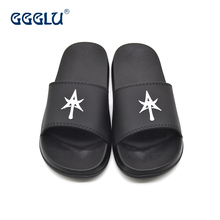 2017 New Custom Logo Slide Sandal Eva Slippers For Men