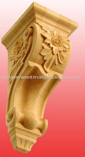 Carved Wooden Corbels Design at Nominal Price