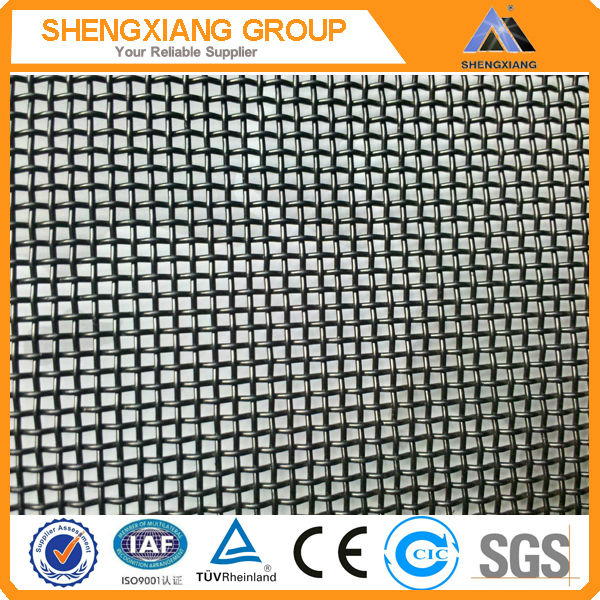 2013 hot sale 316 Stainless Steel Marine Grade Mesh Screen with Black Powder Coating
