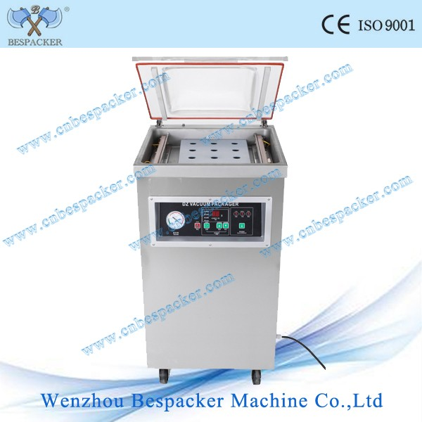 DZ-400 Stand Type Automatic Vacuum Packing Machine For Food Cheese