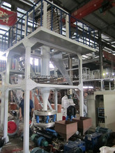 Double Layer Co Extrusion PE Film Blowing Machine