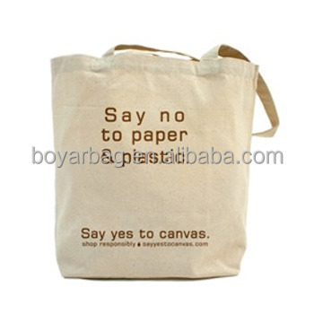 OEM Promotion Retail Shopping Bags Full Color Printing Cloth Tote Bag
