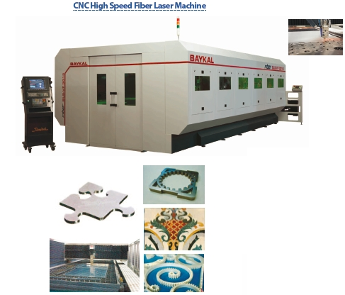 cnc high speed fiber laser machine