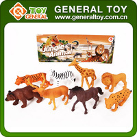 8PCS Horse Animal Set Cartoon Zoo Animal Toys Plastic Wild Animal Toy