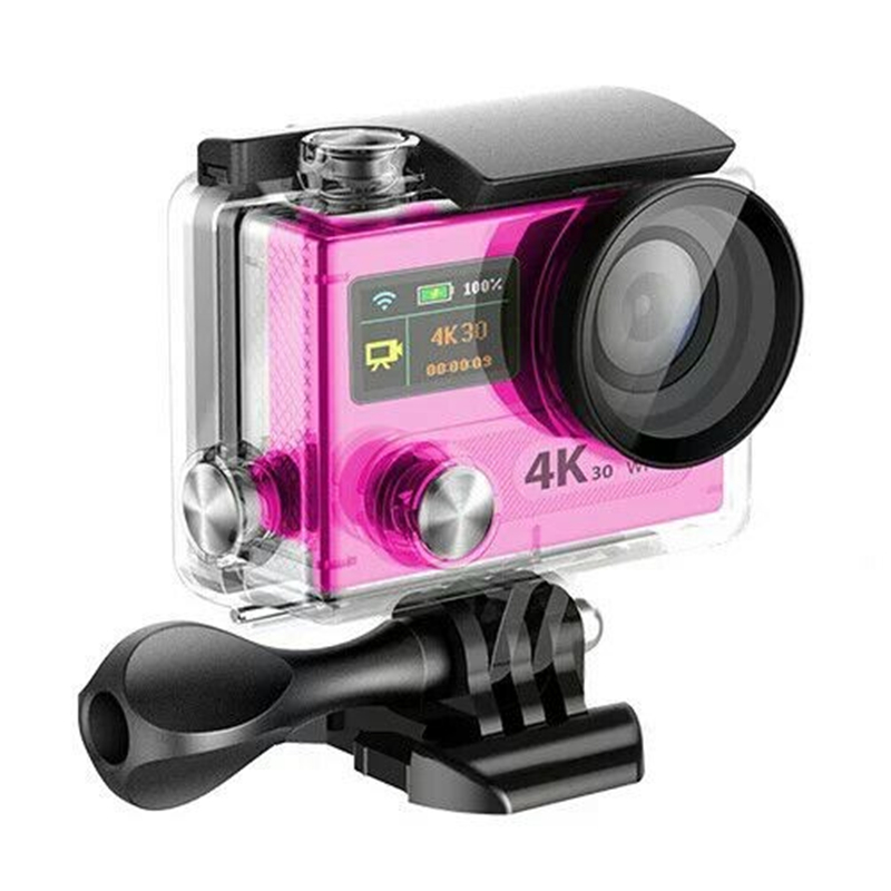 Ultra 4K MDV800 / MDV800R remote Action camera HD 4K WiFi <strong>1080P</strong> Sport Helmet 2.0LCD+0.95 170D lens VR360D Camera Feature