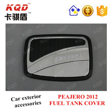 Car accessories ABS plastic car fuel tank cover for Mitsubishi PAJERO to South Africa market