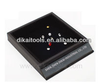 High quality single loose diamond flocking display boxes