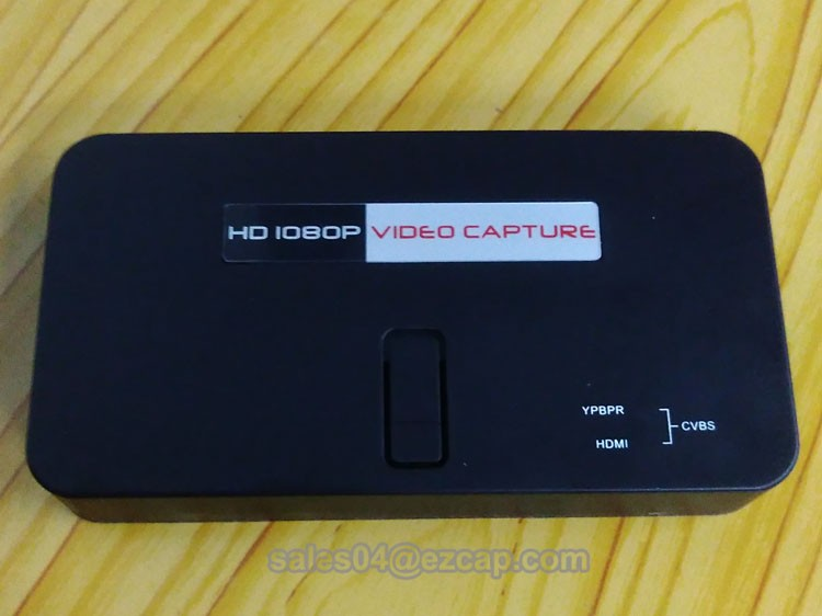 ezcap284 HD 1080P hdmi hdd recorder with remote control for PS3,PS4,XBOX,Set top box etc