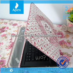 beautiful notebook laptop cloth dust cover
