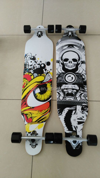 2016 germany top sale 42x9.5 inch complete longboard