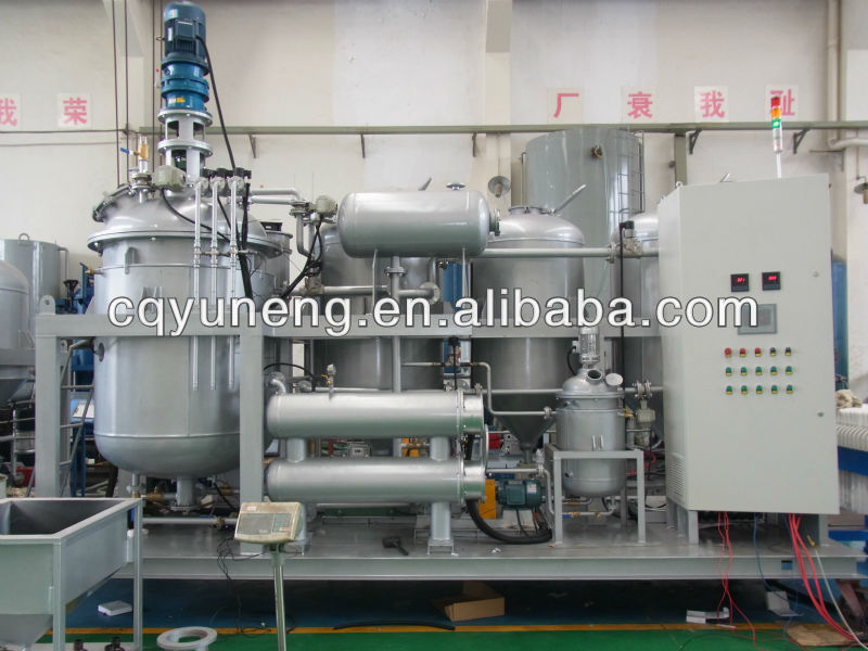 Used Black Engine Oil/Ship Oil Distillation Euipment/Diesel Oil Bleaching and Regeneration