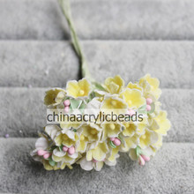 15CM long assorted flower bouquet Artificial Pistils Stamens cake sugarcraft floral wedding flower making 8pcs