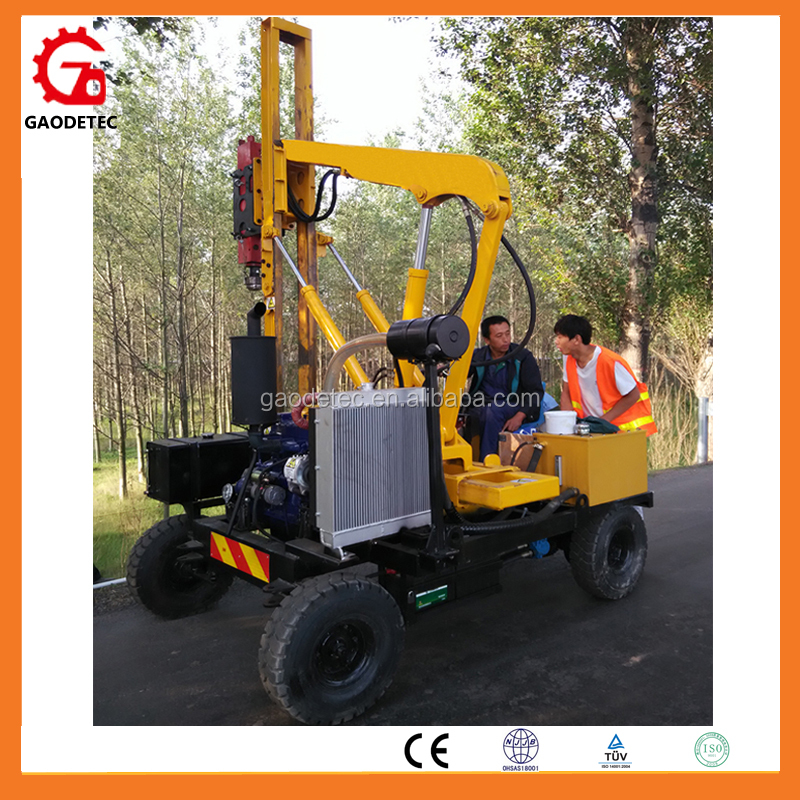 Small Hydraulic Sheet Piling Machine In Pile Foundation Machinery