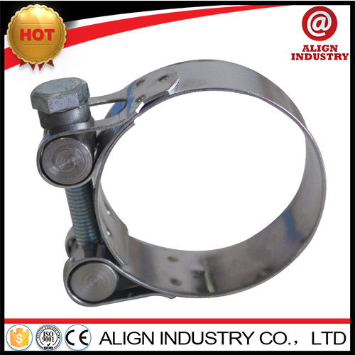 wide band clamp 4 3/32 - 4 3/8 stainless steel spring hose clamp stainless steel exhaust clamp 20-22mm