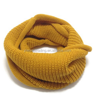 Kids Hot Fashion Thick Knitted Winter Warm Infinity Scarf