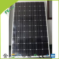 Mono module solar panel with 156mm mono solar cell for solar power systems