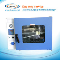 small vacuum drying oven for laboratory lithium ion battery raw material