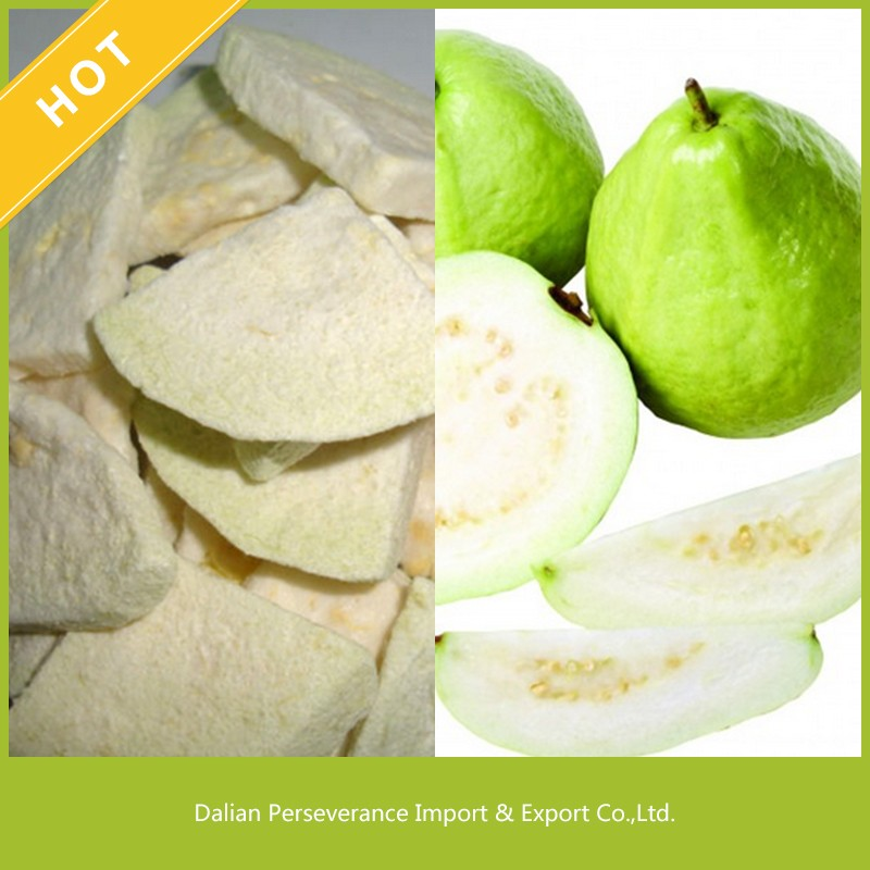 Wholesale Delisious Freeze Dried Fruit Products Freeze Dried Guava