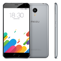 Meizu Metal Smartphone 5.5 Inch FHD Screen MTK6795 Octa Core 2.0GHz Touch ID 2GB 16GB - Gray