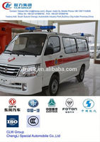 foton ambulance 4x4