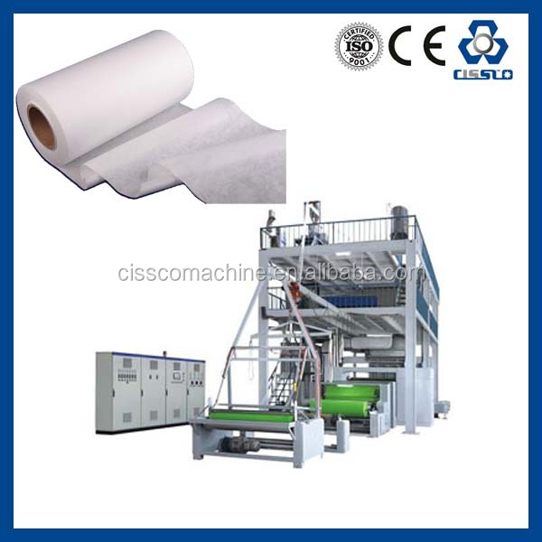 CE STANDARD HIGH PERFORMANCE EUROPEAN TECHNOLOGY PP SPUNBONDED NONWOVEN FABRIC MAKING LINE