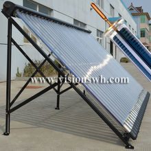 Super Metal Heat Pipe Parabolic Trough Solar Collector